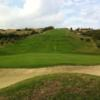 A view of the 3rd green at Estepona Golf Club