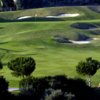 A view of the 1st green at Marbella Golf & Country Club