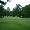 A view of green #2 at Fairmont Golf Club