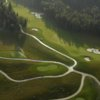Aerial view from Tseleevo Golf and Polo Club