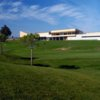 A view of the clubhouse at Rioja Alta Golf Club