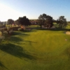 A view of green #18 at Beaverstown Golf Club