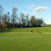 A view of the 1st hole at Elmgreen Golf Club