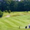 A view of fairway #1 at Craddockstown Golf Club