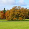 A fall view from Roxburghe Hotel and Golf Course