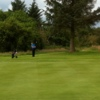 A view of a green at Dumfries and Galloway Golf Club