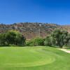 A view of the 10th green from Willow Glen at Sycuan Resort