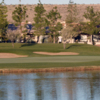 A view over the water of a green at Saddlebrooke from SaddleBrooke Country Club