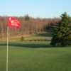 View of the 9th green at the Lake Lorain Golf Course
