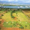 Aerial view of fairways at Ted Makalena Golf Course (Golfcourseranking)