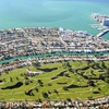 Aerial view of Normandy Shores Golf Course