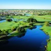 Aerial view from Ibis Golf & Country Club