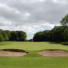 A view of a hole at McDonald Golf Club