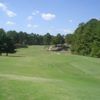 A view from a tee at Cedar Lake Golf Club