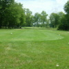 A view from a tee at Sandy Creek Golf Course