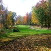 A fall view of a fairway at Midday from Centennial Acres