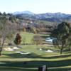 A view from a tee at Moraga Country Club