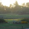 A view of a tee at Las Positas Golf Course