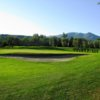 A view of green #1 at Il Colombaro Golf Club
