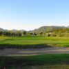 A view of the 5th hole at Il Colombaro Golf Club