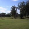 A view of a green at Ispra European Golf Club