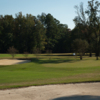 A view of a green protected by bunkers at Moree's Cheraw Country Club