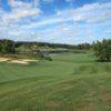 A view of fairway #11 at Poplar Grove Golf Club