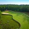 A view of a fairway at Rock Creek Golf Club