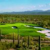 View of the 3rd green from the Tortolita Course at The Golf Club at Dove Mountain