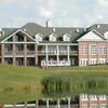 A view of the clubhouse at Yankee Hill Country Club