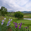 A view of a hole with water coming into play at Montecatini Terme Golf Club