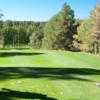A view from a tee at Aspen Valley Golf Club
