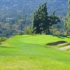 A view of the 11th green at La Canada Flintridge Country Club