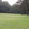 A view of the 9th green at Ellinwood Country Club