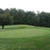 A view of the 2nd green at Ellinwood Country Club