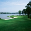 A view from the 11th fairway at Great Waters Course from Reynolds Plantation