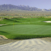 A view of a green surrounded by tricky bunkers at Casablanca Resort & Casino