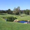 A view of a tee at Woodland Hills Country Club