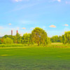 A view of a green at Langston Golf Course