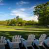 A view of a green at Chevy Chase Club