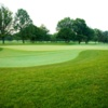 A view of the 2nd green at Westwood Country Club