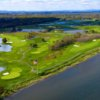 Aerial view from River Course at Trump National Golf Club - Washington D.C.