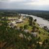 Aerial view of the Lake Blackshear Resort & Golf Club