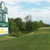 A view from tee #1 at St. Clair Parkway Golf Course