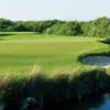 A view of a green at El Camaleon Mayakoba Golf Club