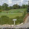 A view from Glen Oaks Golf Course