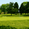 A view of a green at Fall Creek Golf Club (Americantowns)