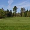 A view of the 15th green at Sand Point Golf Course