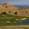 A view of the 15th green at Black Mesa Golf Club