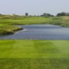 A view from a tee at Shepherds Crook Golf Course